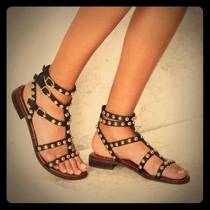 👑 SAM EDELMAN Eavan Gladiator Sandals!